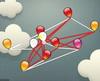 Balloon Tangle logikai játék