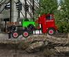 18 Wheeler Heavy Cargo automotor játék